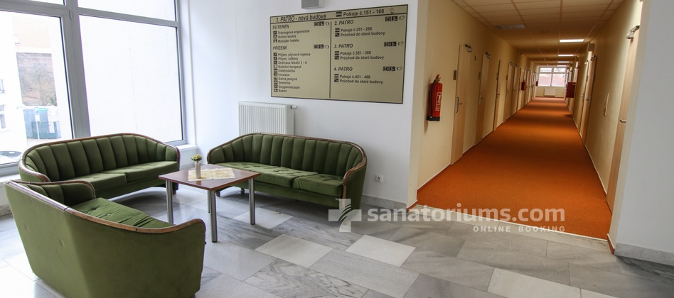Spa Hotel Libensky - interior of the medical department