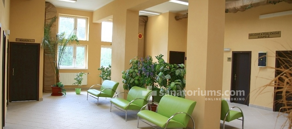 Spa Hotel Zamecek - reception of the medical department