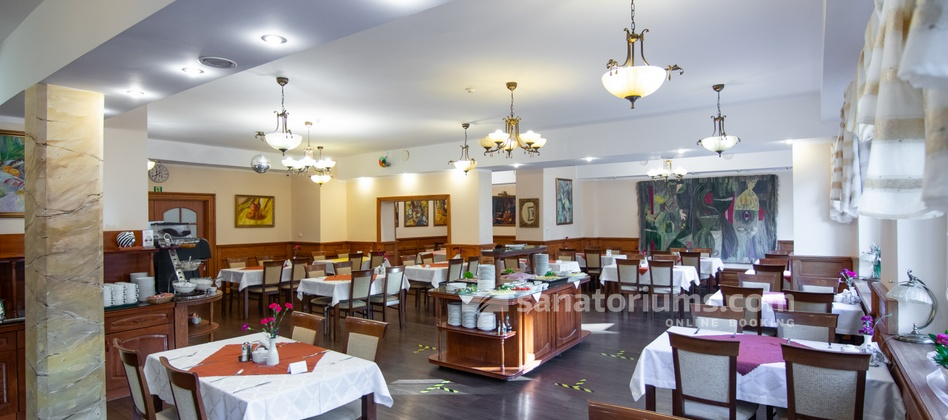 Отель Park Hotel Kur and Spa - ресторан