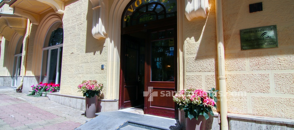 Spa Hotel Svoboda - main entrance