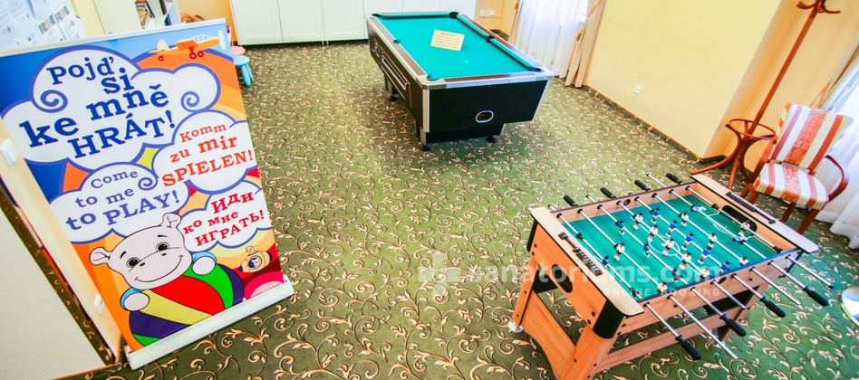 Spa Hotel Svoboda - billiards and table football