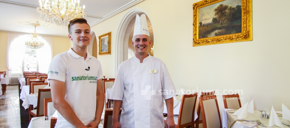 Spa Hotel Svoboda - interview with the chef