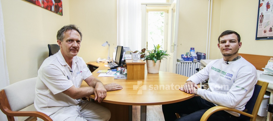 Spa Hotel Svoboda - interview with a neurologist