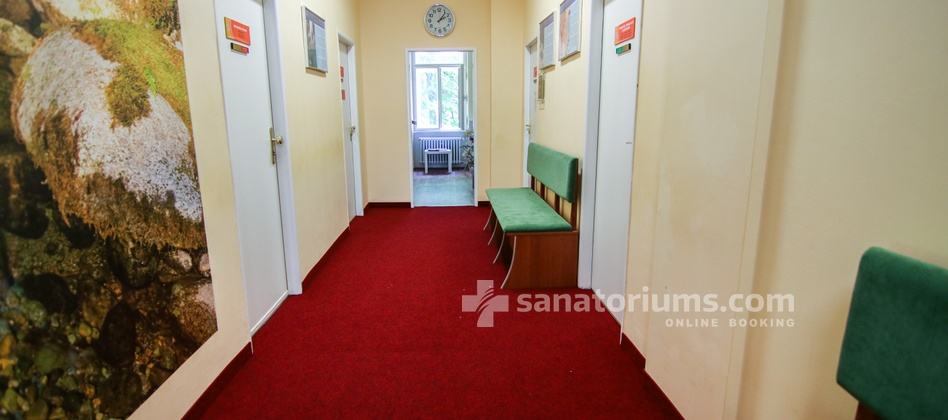 Spa Hotel Svoboda - interior of the medical department