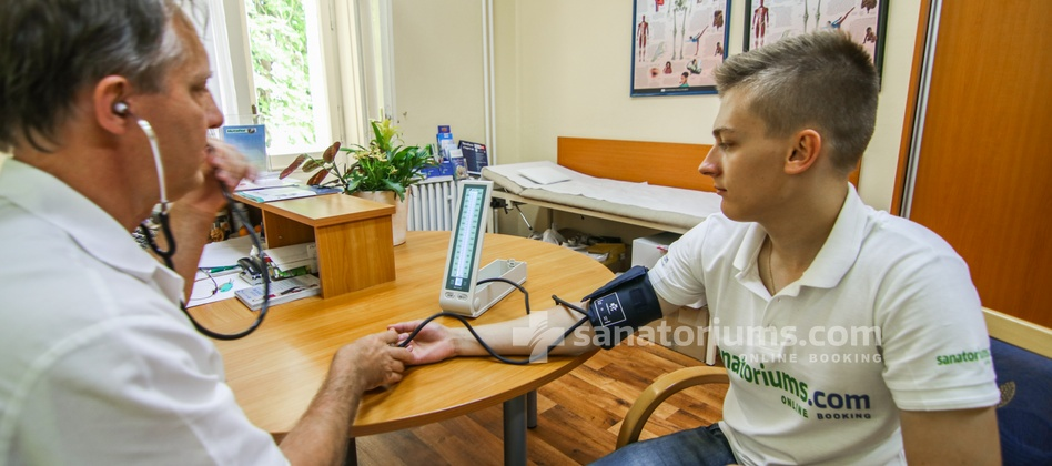 Spa Hotel Svoboda - blood pressure measurement
