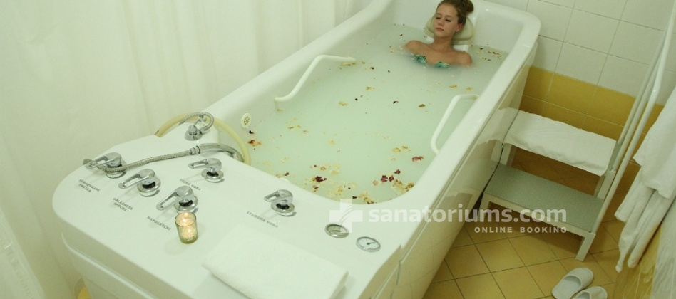 Spa Hotel San Remo - cosmetic bath
