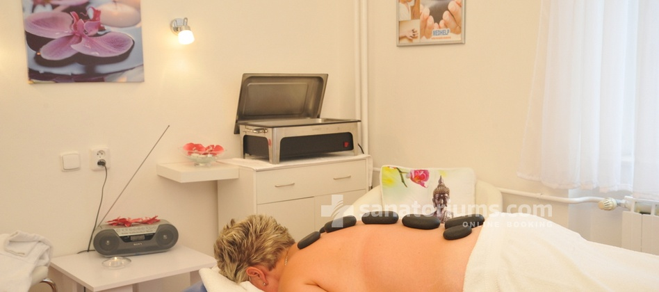 Spa Hotel San Remo - hot stone massage