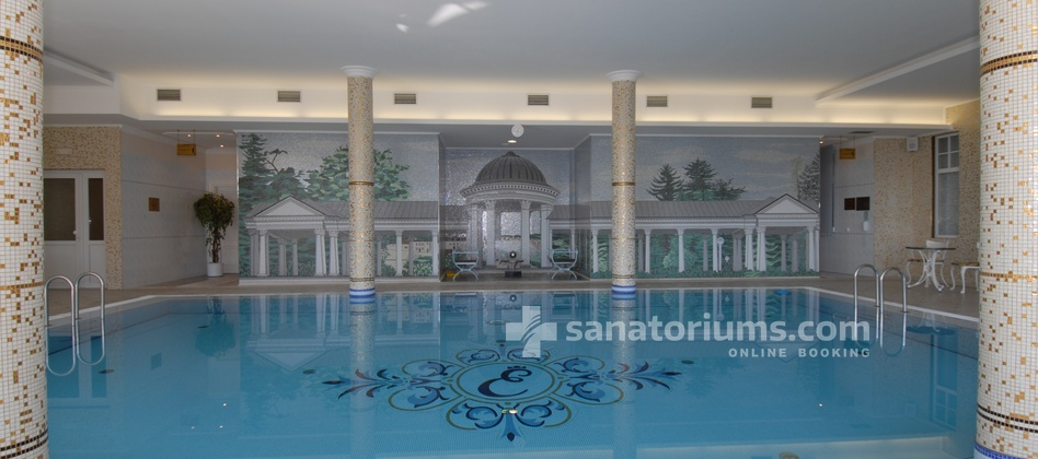 Санаторий Esplanade Spa and Golf Resort - бассейн 6х12 метров