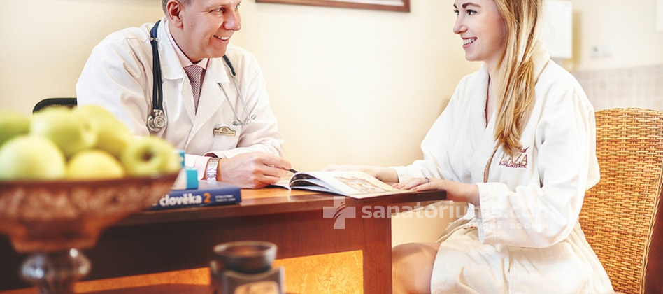 Carlsbad Plaza Medical Spa & Wellness hotel - appointment and examination by a doctor
