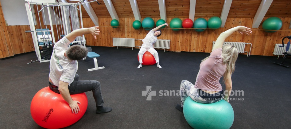 Spa Hotel Kolonada - gymnastics in the gym